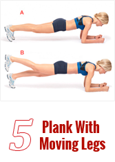 Plank With Moving Legs